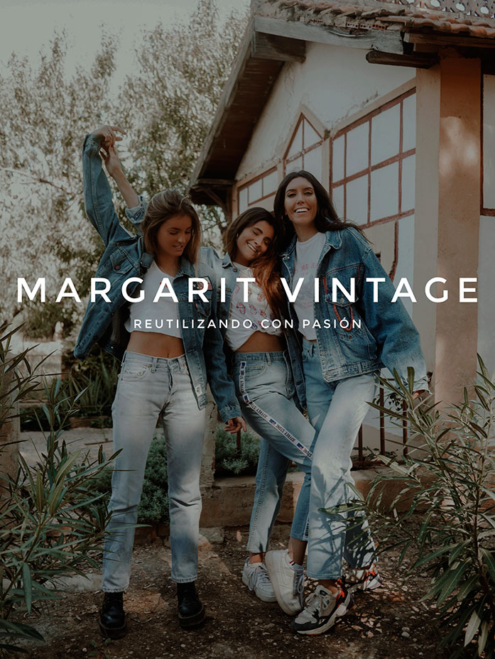 Margarit Vintage - Reutilizando con pasión